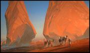 White Desert por Raphael Lacoste