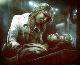 Galina mata a su madre