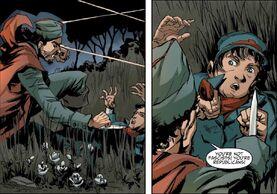 Ignacio se encuentra con un joven soldado