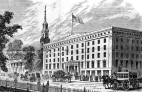 Astor House, New York City 1862