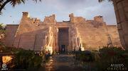 Hathor Temple 03 por Louis Lavoie