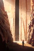 Door of Seth por Raphael Lacoste