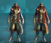 Navegador conjuntos Pirata Majestic