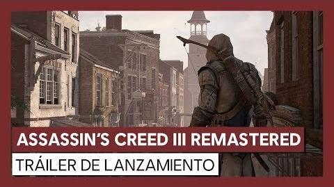 Assassin's Creed III Remastered Tráiler de lanzamiento