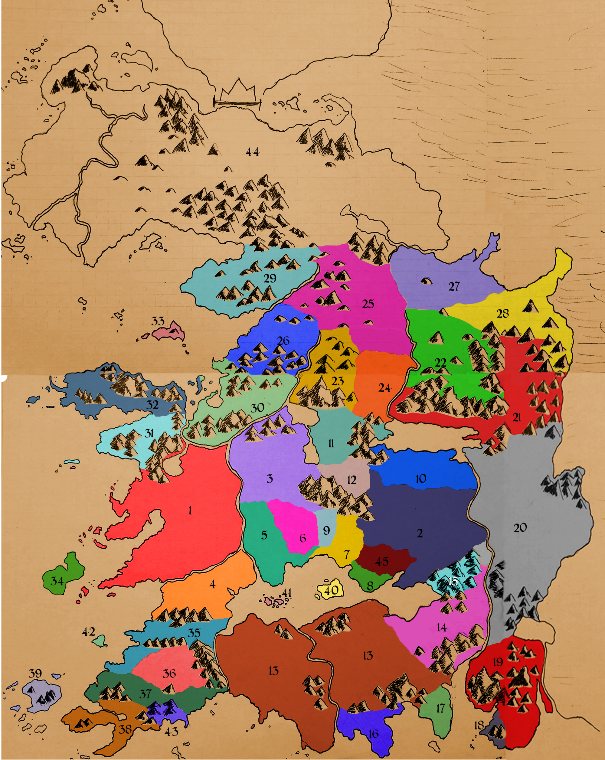 Athas World Map.Athas Continent Theathaschronicle Wiki Fandom Powered By Wikia