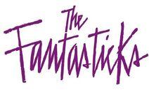"""Classic Show Card Logo of """"The Fantasticks."""""""
