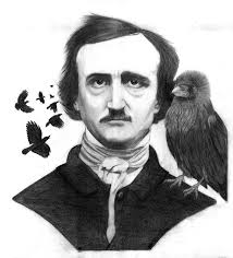 Edgar Allan Poe and Famed Friend.