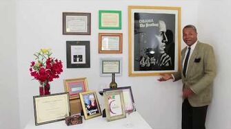 Darryl Maximilian Robinson In His Awards Room!, Take Two