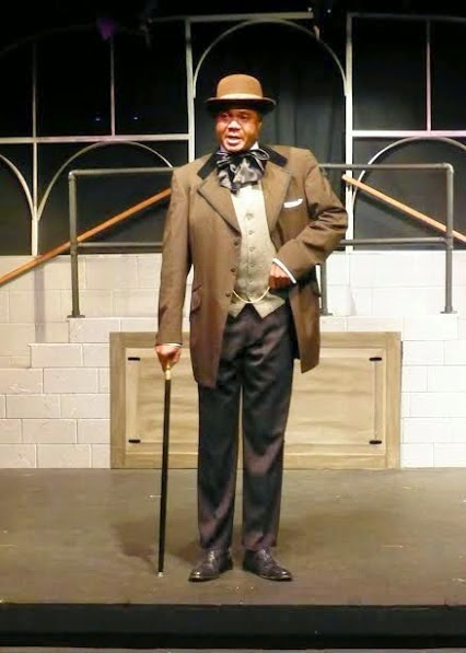 Darryl Maximilian Robinson as Booker T Washington in Ragtime 2