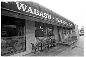 The Wabash Triangle Cafe of St. Louis.
