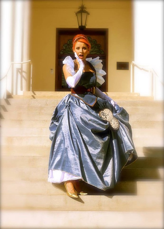 Courtney Daniels as Cinderella in Into The Woods.