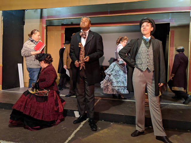 Darryl Maximilian Robinson as The Chairman Mr. William Cartwright & The Mayor Thomas Sapsea and Principal Cast Members in The Mystery of Edwin Drood -3.