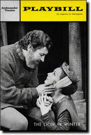 Tony Winners Robert Preston and Rosemary Harris in James Goldman's The Lion In Winter.