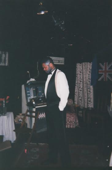 Darryl Maximilian Robinson as Sam Semela in Athol Fugard's Master Harold And The Boys.