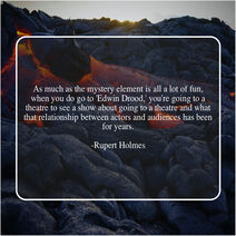 Rupert Holmes Quote