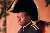 Darryl Maximilian Robinson as Major-General Stanley in The Pirates of Penzance.