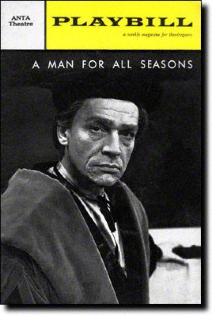 Sir Paul Scofield as Sir Thomas More.