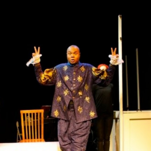Darryl Maximilian Robinson as Henry Albertson in The Fantasticks 9