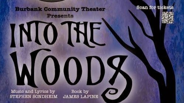 Burbank Community Theatre Into The Woods Showcard (1)