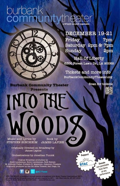 Into The Woods Showcard.