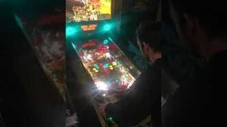 Actor Danny Belrose Attack from Mars Pinball Ruler of the Universe