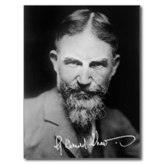 George bernard shaw portrait postcard-r016aa297697e481494f4094a8b63a7e8 vgbaq 8byvr 324