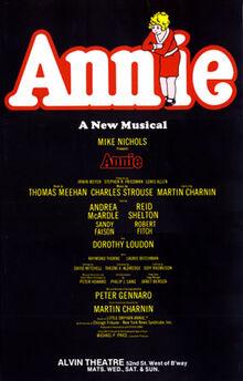 Annie Musical Poster