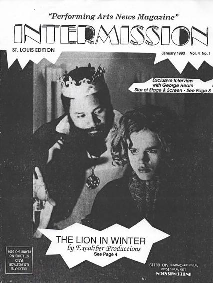 Award-winning Director Darryl Maximilian Robinson as King Henry II and Philip Watt as Prince John in James Goldman's The Lion In Winter