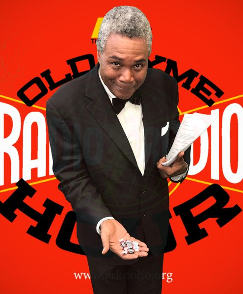 495px-Darryl Maximilian Robinson as The Announcer in The 2020 Ark Theatre of North Hollywood Old Time Radio Hour production of The Dick Tracy Radio Show -9.