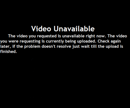 VideoUnavailable