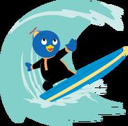 The Backyardigans Beach Bonanza Pablo Surfing