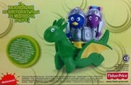 The Backyardigans Knights & Dragon Playset
