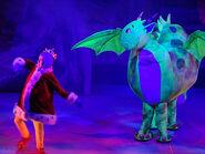 The Backyardigans Live Dragon and King Pablo