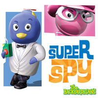 The Backyardigans Super Spy - iTunes Cover (Canada)