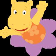 The Backyardigans Tasha in Flower Nickelodeon Character Image