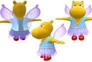The Backyardigans Tasha as the Flighty Fairy Model Sheet