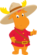 The Backyardigans Mountie Tyrone