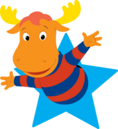 The Backyardigans Tyrone in Star Nickelodeon Character Image
