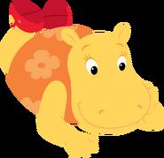 The Backyardigans Tasha Lying Down Nickelodeon Character Image