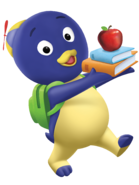 The Backyardigans Pablo Backpack Nickelodeon Nick Jr. Character Image
