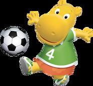 The Backyardigans Tasha Soccer Fútbol Nickelodeon Nick Jr. Character Image