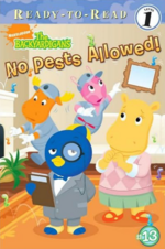 The Backyardigans Wormans No Pests Allowed! Book