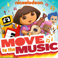 Nickelodeon Move to the Music - iTunes Cover (United States)
