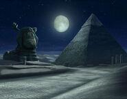 The Backyardigans Mummy King Tyrone's Pyramid Concept Art