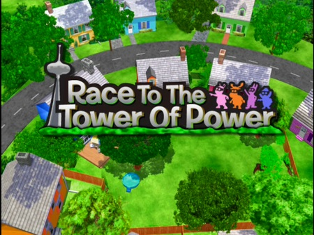 race to the tower of power the backyardigans wiki