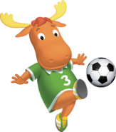 The Backyardigans Tyrone Soccer Fútbol Nickelodeon Nick Jr. Character Image
