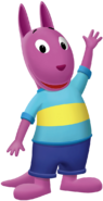 The Backyardigans Austin Waving