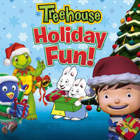 Treehouse Holiday Fun! - iTunes Cover (Canada)