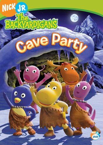 Cave Party (DVD) | The Backyardigans Wiki | FANDOM powered