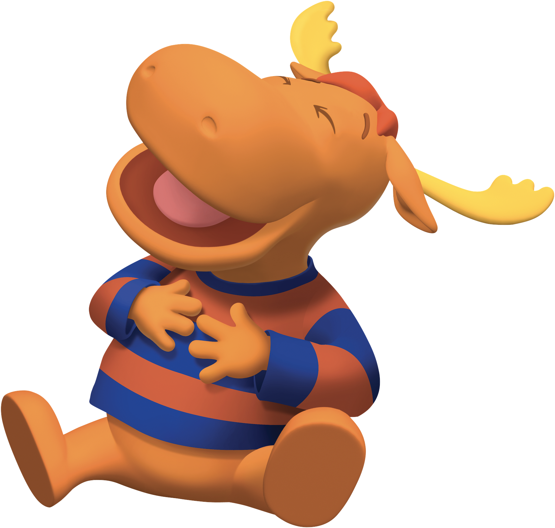 Charmant The Backyardigans Tyrone Laughing.png